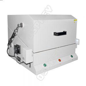 Pneumatic shielding chamber