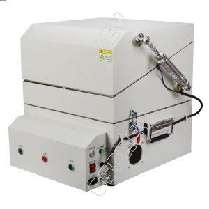 Double-decker clamshell type Pneumatic RF shield box