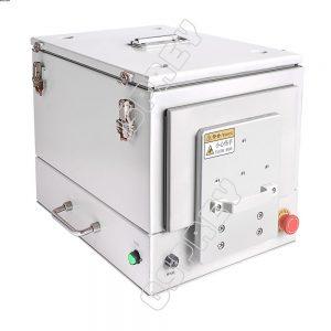 Affordable drawer type pneumatic RF shield box.