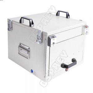 Affordable drawer type pneumatic RF shield box