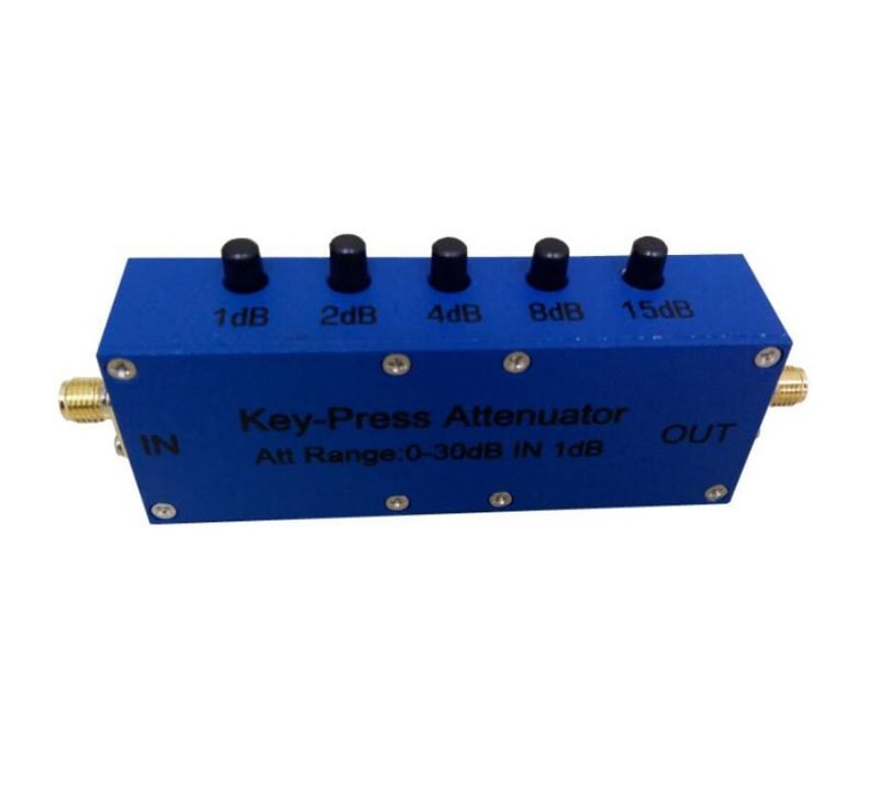 30 dB Push Button Variable Attenuator