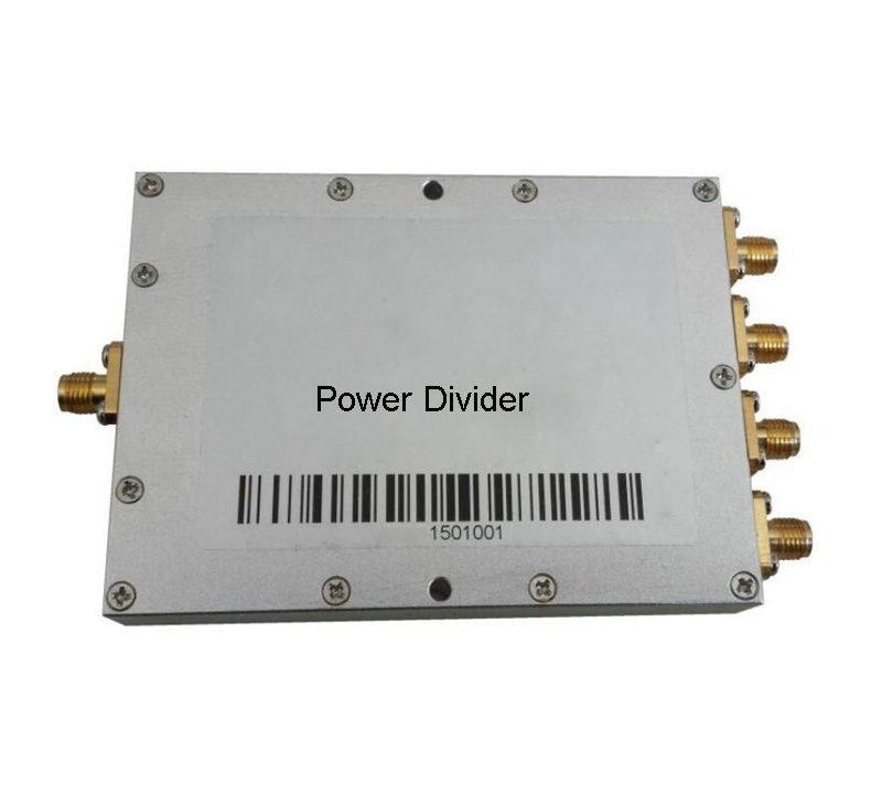 500-6000MHz 4Way Power Divider Splitter