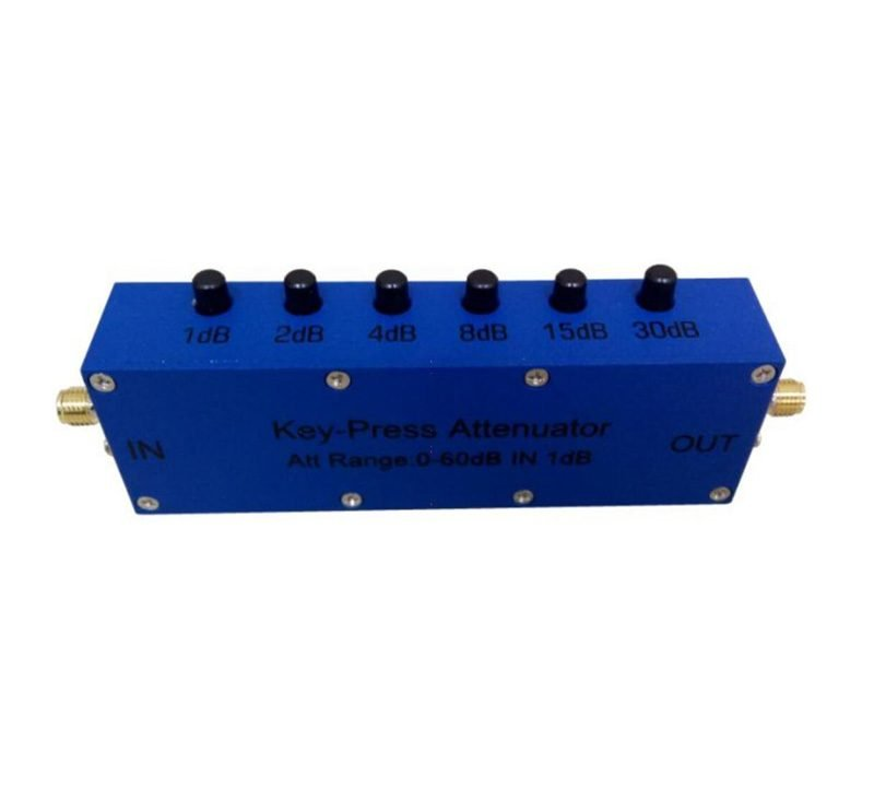 60 dB Push Button Step Attenuator