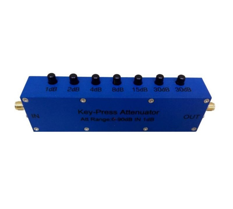 90 dB Push Button Step Attenuator
