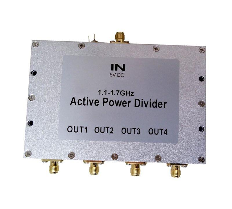 Active 4 Way Power Divider splitter