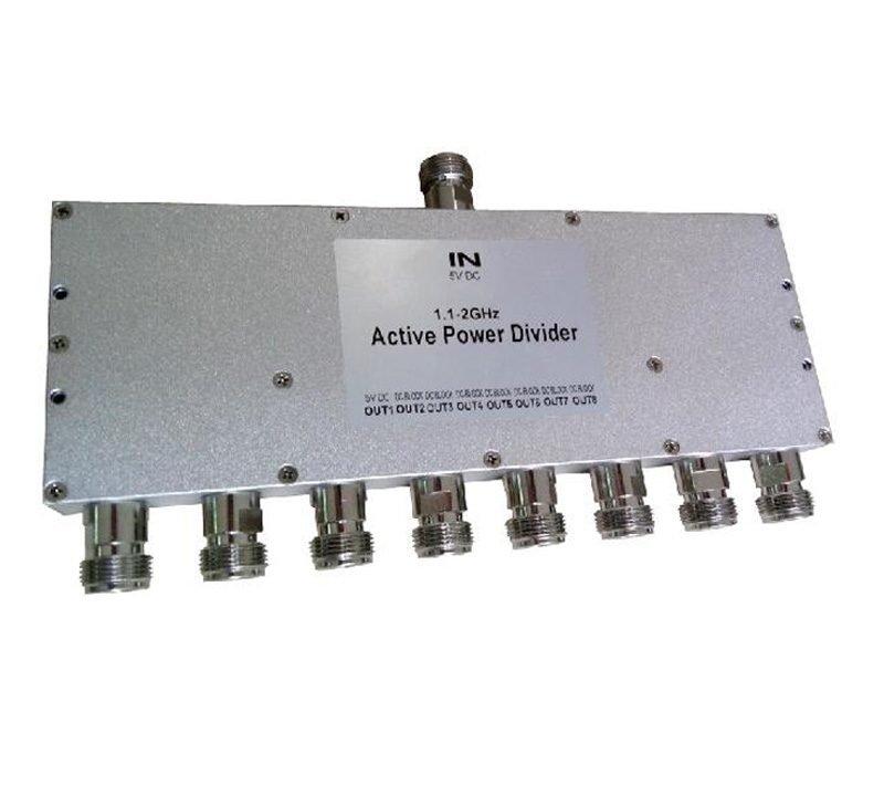 Active 8 Way Power Divider splitter