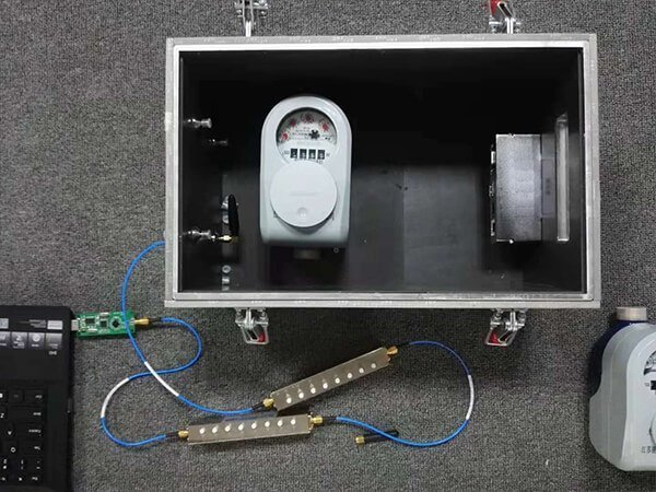 smart meter testing under rf shield box
